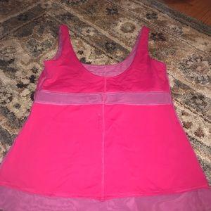 lululemon athletica Tops - Lululemon pink workout top
